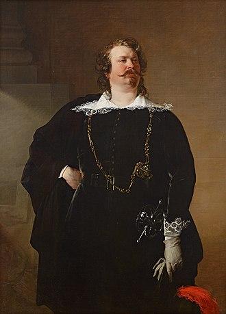 """Pfuel - """"Baron Pfuel"""", Friedrich von Amerling (1836), Belvedere, Vienna"""