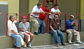 Friends chatting outside the Mercado in Ponce, Puerto Rico.jpg