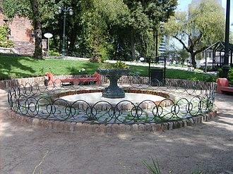 Santa Lucía Hill - Image: Fuente Patio Circular