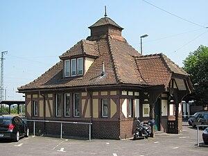 Friedberg station - Former royal reception building