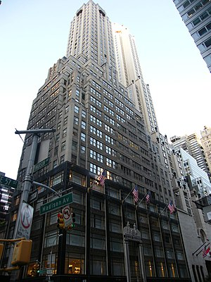 George A. Fuller - The Fuller Building at 57th Street and Madison Avenue, into which the Fuller Company moved in 1929.