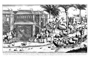 Trịnh Tùng - Image: Funeral of Lord Trinh Tung 3