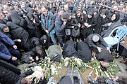 Funeral procession of victims of Ukrainian Boeing 737-800 plane crash in Hamadan 2020-01-16 32.jpg