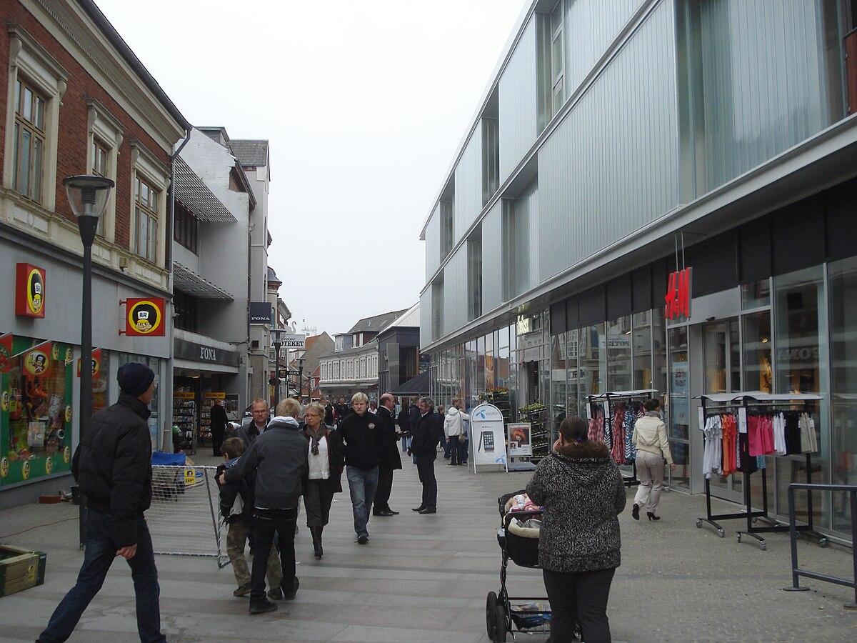 butikker i thisted gågade