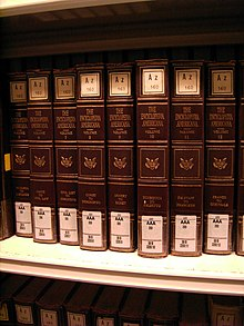 Encyclopedia Americana at Göttingen State and University Library