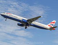 G-EUXE - A321 - British Airways
