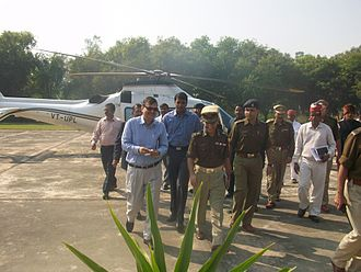 Auraiya - Inspection of GAIL (India) Ltd by Principal Chief Secretary