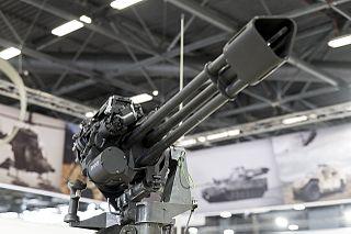 GAU-19 An electrically-driven heavy machine gun