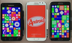AMOLED - AMOLED used in the Samsung Galaxy Note series