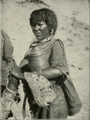 Galla woman selling butter, 1906.png