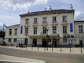 Brétigny (Paris RER) railway station in Brétigny-sur-Orge, France