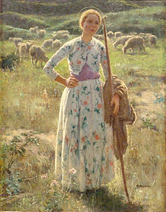 Gari Melchers - Image: Gari Melchers Joan of Arc