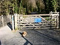 Gate on Mawddach Trail - geograph.org.uk - 394050.jpg