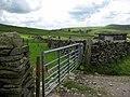 Gateway and sheepfold on Long Lane - geograph.org.uk - 1448914.jpg