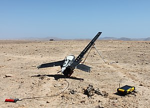 Digital elevation model - Gatewing X100 unmanned aerial vehicle