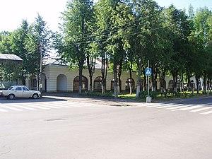 Novaya Ladoga - The trading arcades