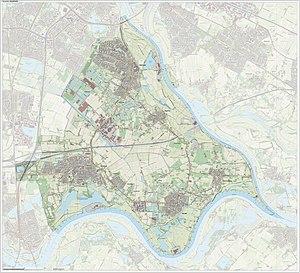 Lingewaard - Dutch Topographic map of Lingewaard, June 2015