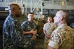 General Malavet, Rear Admiral Ponds visit USS Anchorage 150324-M-MW620-106.jpg