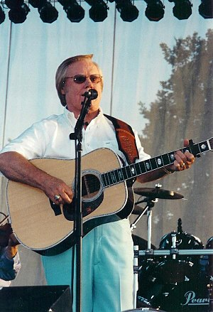George Jones singles discography - Jones performing at Harrah's Metropolis in Metropolis, Illinois in June 2002