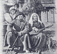 Georgians playing chonguri.png