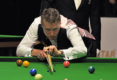 Gerard Greene at Snooker German Masters (Martin Rulsch) 2014-01-29 01.jpg