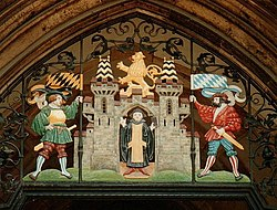 Munich's city symbol celebrates its founding by Benedictine monks—and the origin of its name
