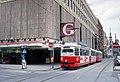 Gerngross mariahilferstrasse mit strassenbahn 06-1993.jpg