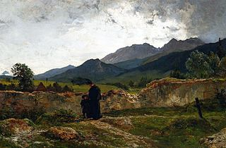 Cmentarz w górach