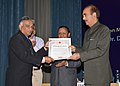 Ghulam Nabi Azad presented the Indian Red Cross certificates of merit, at the Business Session of the Annual General Meeting of the Indian Red Cross Society & St. John Ambulance (India), in New Delhi on May 03, 2013 (2).jpg