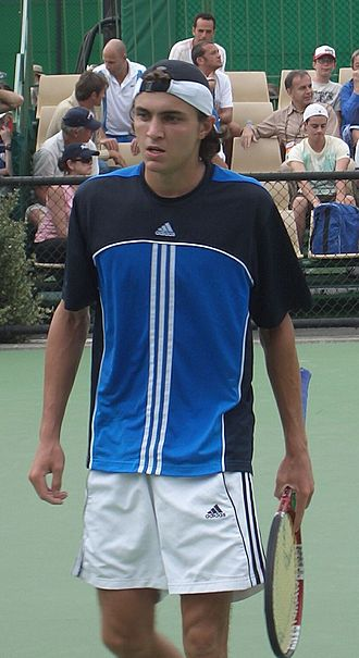 Gilles Simon - At the 2006 Australian Open