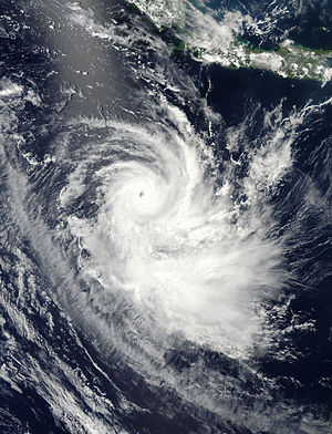 Cyclone Gillian - Image: Gillian Mar 23 2014 0645Z