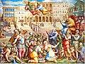 Giorgio Vasar retour idéalisé de Grégoire XI à Rome.jpg