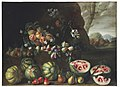 Giovanni Stanchi, Watermelons, Peaches, Pears, and Other Fruit in a Landscape.jpg