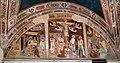 Giovanni cristiani e bottega, natività, crocifissione con santi e compianto, 1390 ca. 00.jpg