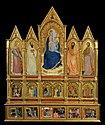 Giovanni da milano, Polyptych with Madonna and Saints, prato.jpg