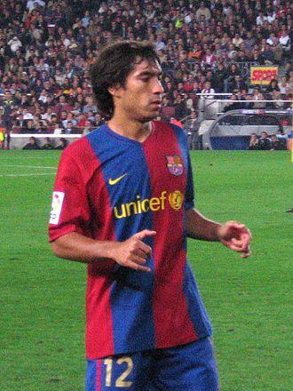 Giovanni van Bronckhorst - With Barcelona in 2006.
