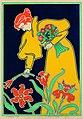 Gisbert Combaz - Poster for the Annual Exhibition for La Libre Esthetique of 1897.jpg