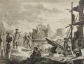 Giuseppe I, Re di Portogallo, fa riedificar Lisbona (Ap. Antonio Latta e Figli Venezia - P.Novelli inv.).png