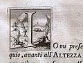 Giuseppe maria bianchini, Dei Granduchi di Toscana della real Casa De' Medici, per gio. battista recurti, venezia 1741, 04 anna maria luisa de' medici 5 capolettera.jpg