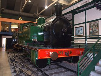 G&SWR 5 Class - No 9 at the former Glasgow Museum of Transport, 2007