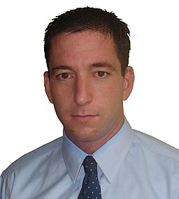 Glenn greenwald portrait