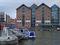 Gloucester Docks - Herbert and Kimberley Warehouses - geograph.org.uk - 609627.jpg