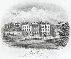 Glynllivon. Seat of Rt. Hon. Lord Newborough