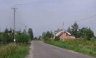 Czarny Las, Piaseczno County Village in Masovian, Poland