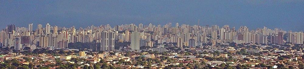 Panorama de Goiânia.