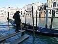Gondolier Boards his Gondola.jpg