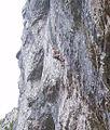 Gordale Scar cliffhanger.JPG
