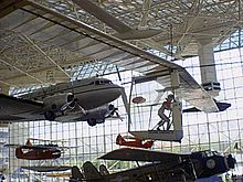 Gossamer Albatross II at the Museum of Flight.JPG