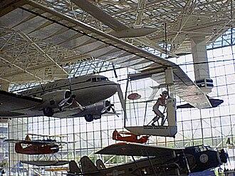 MacCready Gossamer Albatross - The Gossamer Albatross II at the Museum of Flight in Seattle