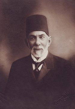 Governor General of the State of Aleppo Mar'i Pasha Al Mallah, 1924.jpg